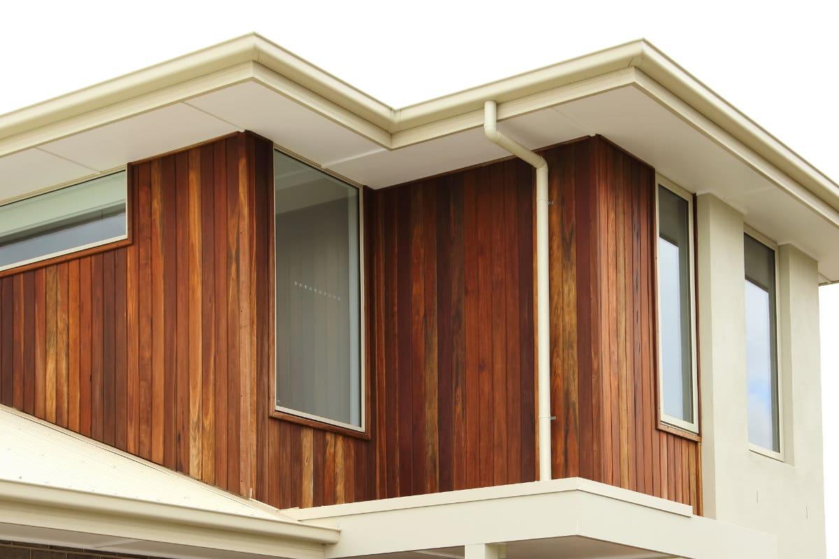 houten gevelbekleding voorbeeld
