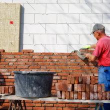 muur metselen na buitengevel isoleren